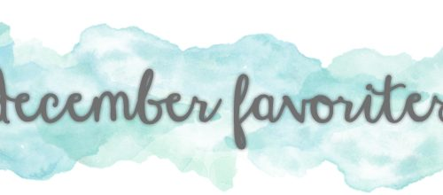 December Favorites | Shower Edition