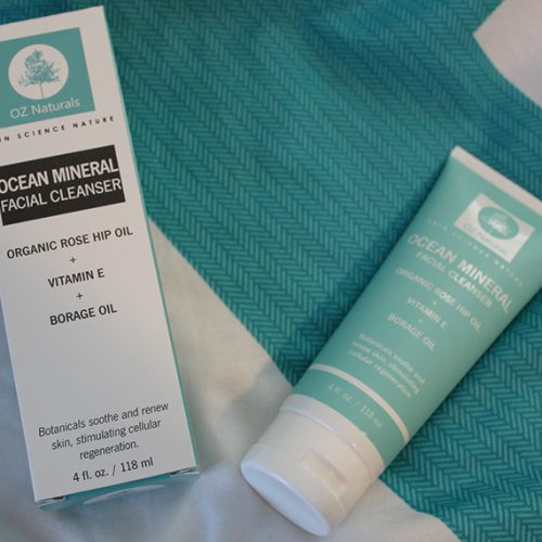 Oz Naturals Ocean Minerals Facial Cleanser   Review *
