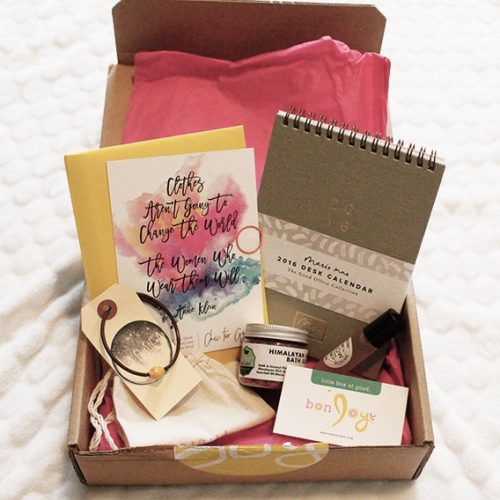 LITTLE BOX OF GOOD | bonJOY May Monthly