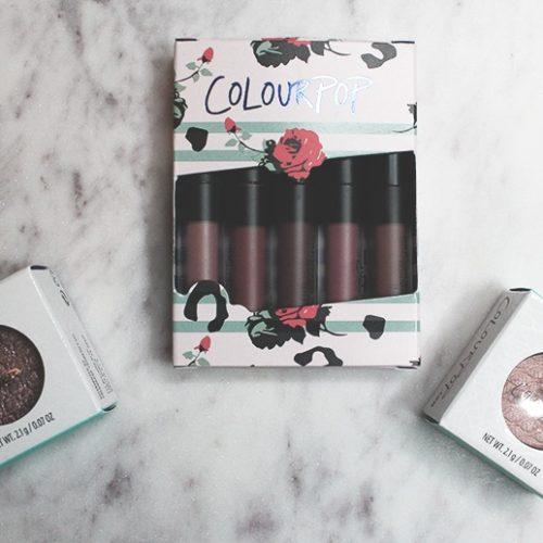 Colourpop Haul + Giveaway!
