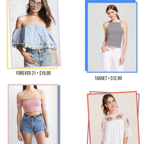 Summer Tops That You Need In Your Closet