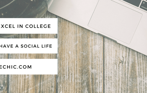 How to Excel in College and Still Have a Social Life
