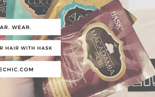 Tear. Wear. Love Your Hair with HASK Deep Conditioners!*