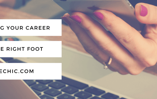 Starting Your Career on the Right Foot