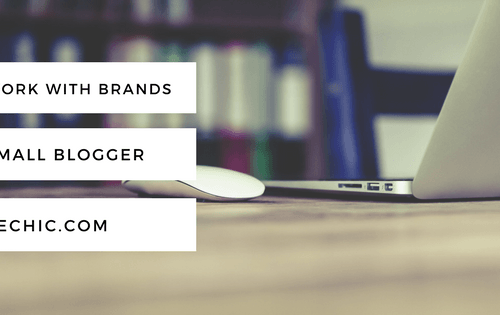 How to Work with Brands as a Small Blogger