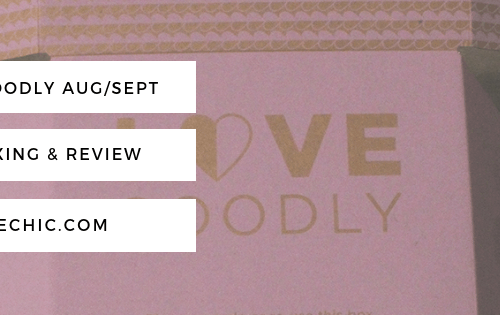 Love Goodly Aug/Sept 2018 Unboxing & Review