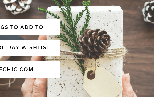 5 Things to Add to Your Holiday Wishlist